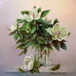 Valevskaya Valentina - Delicate magnolia.