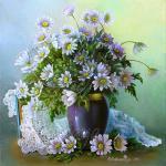 Valevskaya Valentina - Delicate bouquet.