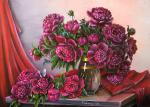 Valevskaya Valentina - The aroma of red peonies.