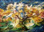 Sizonenko Iuori - The Tree in sunbeams.