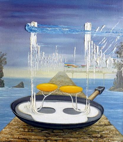 Триптих: Завтрак.