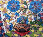 Sizonenko Iuori - Floral still life in sunlight.
