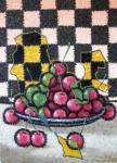 Sizonenko Iuori - A plate of cherries.