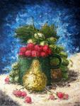 Sizonenko Iuori - Still life with raspberries.