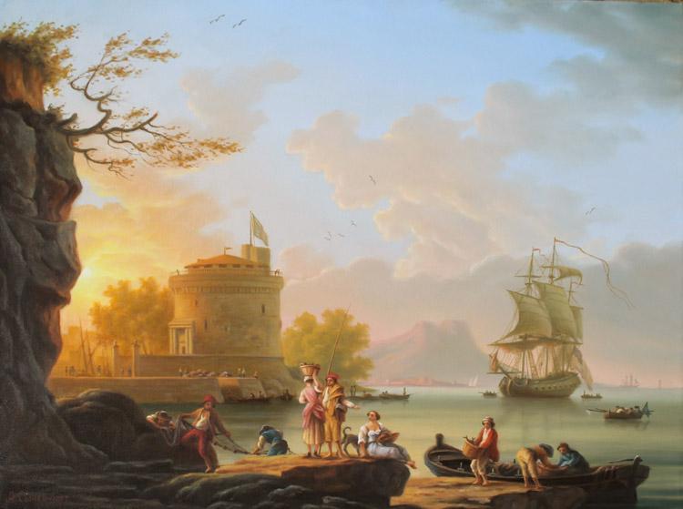 Морской пейзаж(копия)