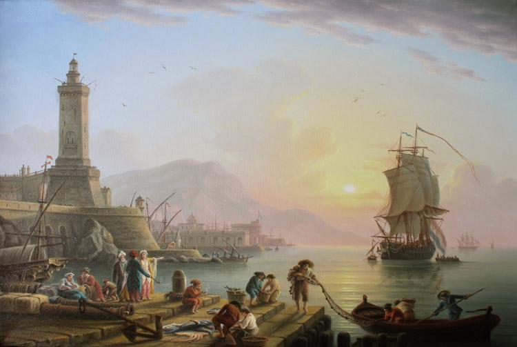 Пейзаж с маяком(копия)