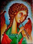 Корольков Сергей - Ангел играющий на дудочке