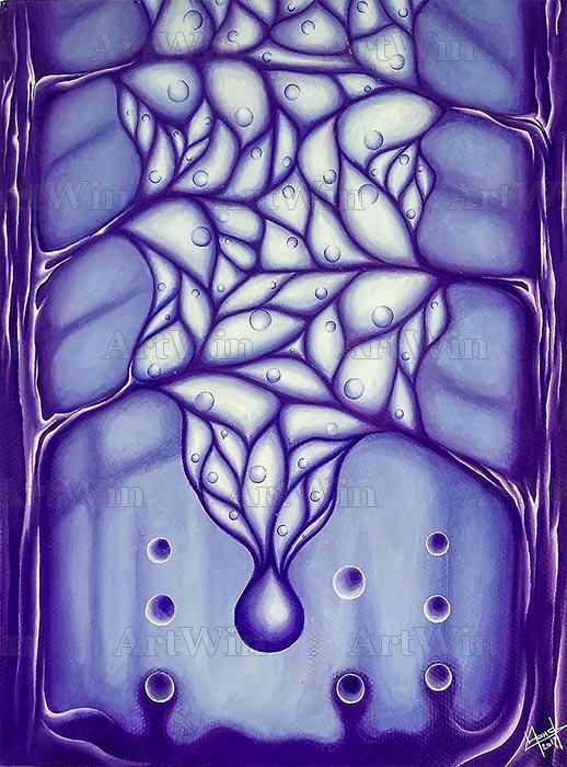 Фиолетовый лес