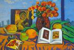 Li Moesey - Still life with an icon