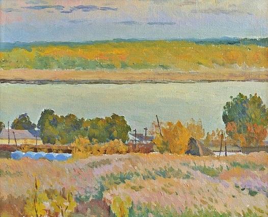 Volga in autumn