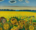 Li Moesey - Field of sunflowers