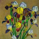 Li Moesey - Irises