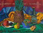 Ли Моесей - Натюрморт с ананасом