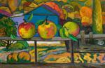 Li Moesey - Apples on the balcony