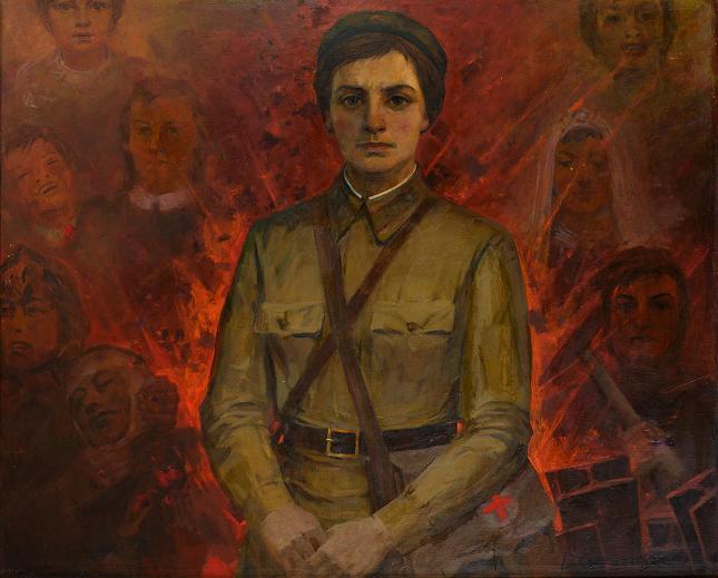 The Hero of Russia Natalya Kachuevskaya