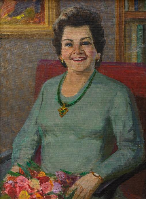 Portrait of Zina