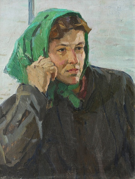 Портрет поварихи Артюхиной Клавдии Петровны