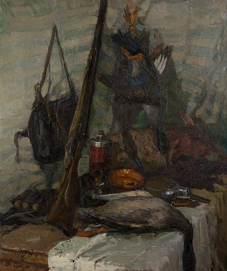 Still life with a wildfowl