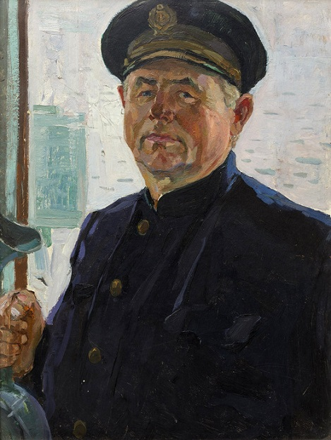 Portrait of the captain of the ship