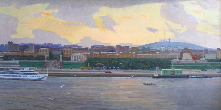 Volgograd. View from Volga