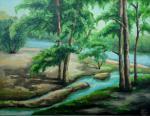 Бирюзовый ручей