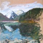 Горное озеро (Neuschwanstein)