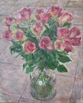 Утренние розы.