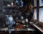 Zhelonkin Alexander - Still life by the window