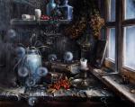 Желонкин Александр - Натюрморт у окна