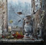 Желонкин Александр - Натюрморт с фонарем
