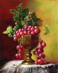 Shtykov Vladimir - Grapes in a bronze bowl