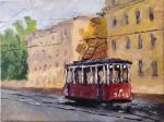 Grigoriev Serg - Retro tram on Vasilievskiy island