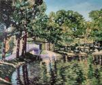 Grigoriev Serg - View on pond in Gatchina's park
