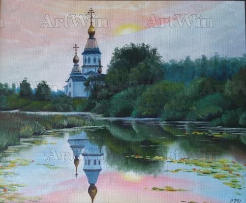 Церковь у пруда
