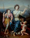 Прикота Вадим - Маркиза де Сейнеле с двумя сыновьями