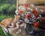 Воробьева Ольга - Дачная жизнь кота Василия