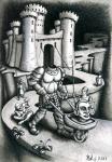 "Kraval Juriy - Strange history ""Green knight"""