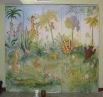 Лихойда Максим - Роспись шкафа в детской комнате