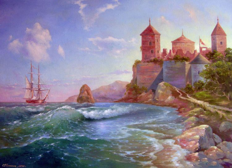 Sea fortress.