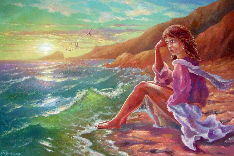 In love in a sea.