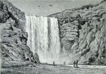 Водопад Скоугаффос (Исландия).