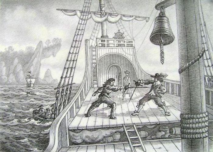 Pirate scene 2