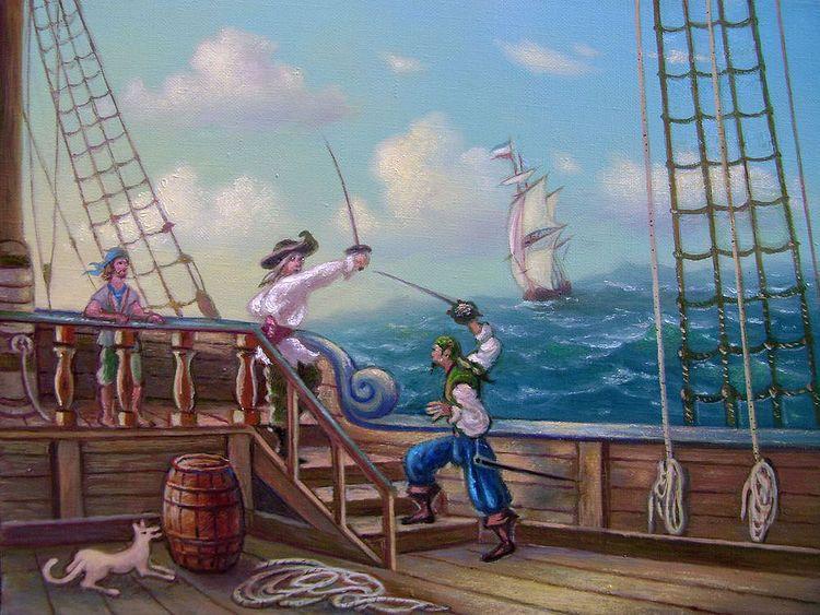 Pirate battle.