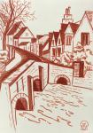 Old Bridge. Sketch.