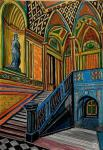 The Staircase in Palace. Sketch.