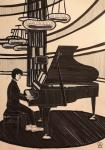 Фукуок. Пианист. Скетч.