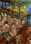 Фукуок. Каменный дракон.