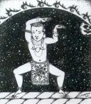 Аум Рахаси - танцовщик