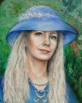 Романченко Марина - Портрет девушки (портрет на заказ)
